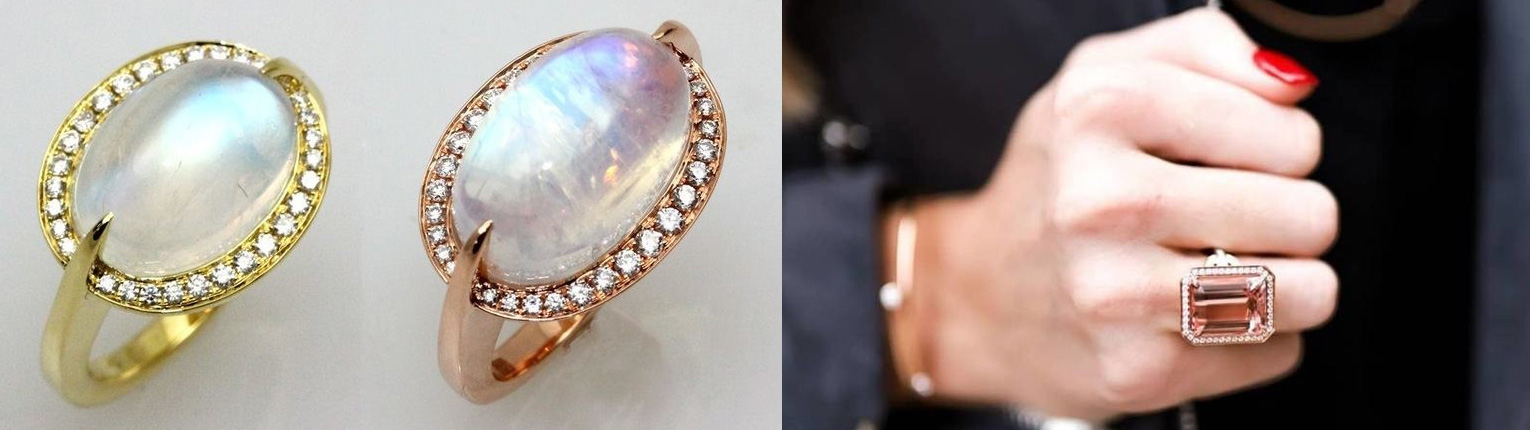 FREDERIC SAGE rings