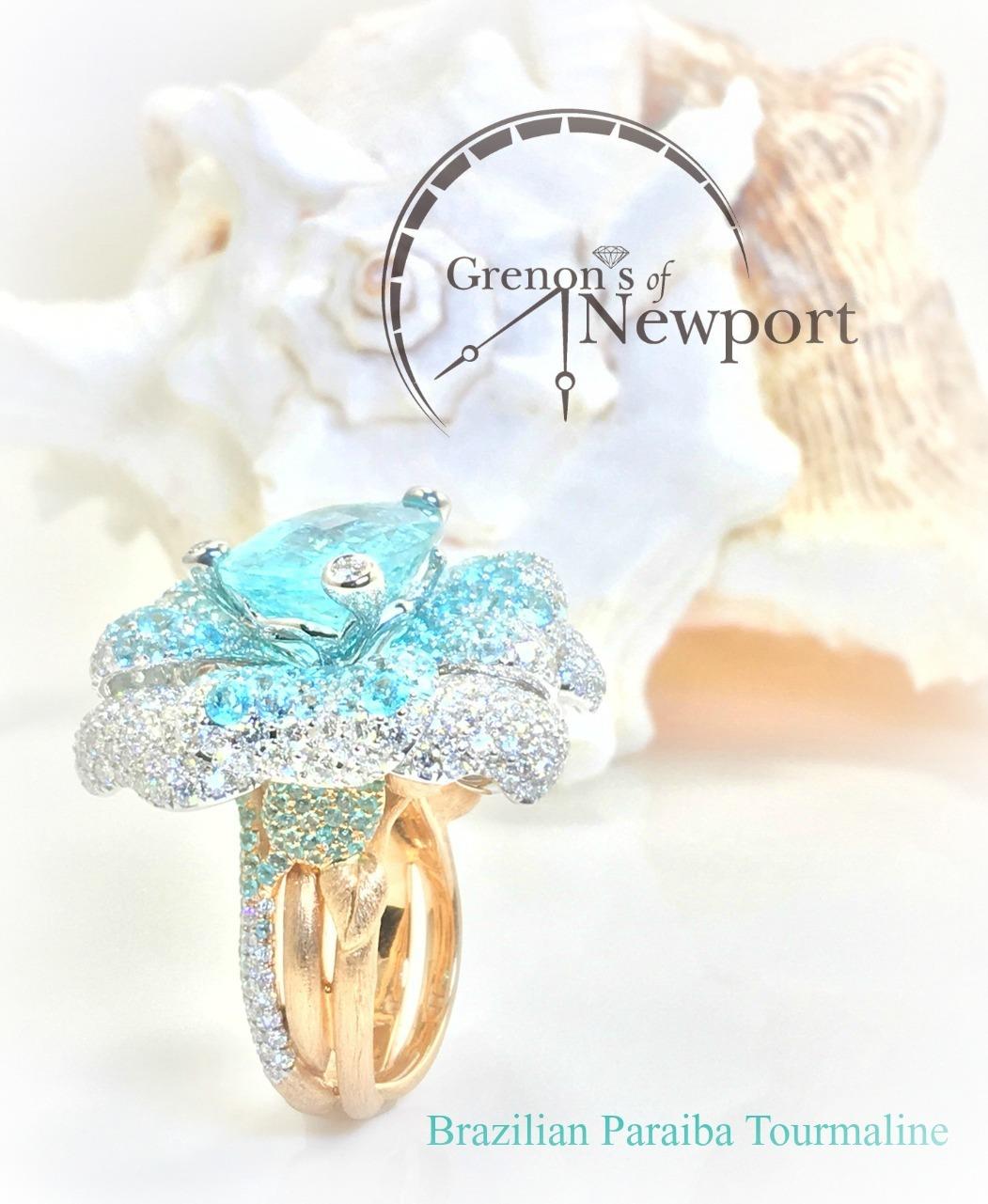 Grenons_Of_Newport_Custom_design_Brazilian_Paraiba_Tourmaline