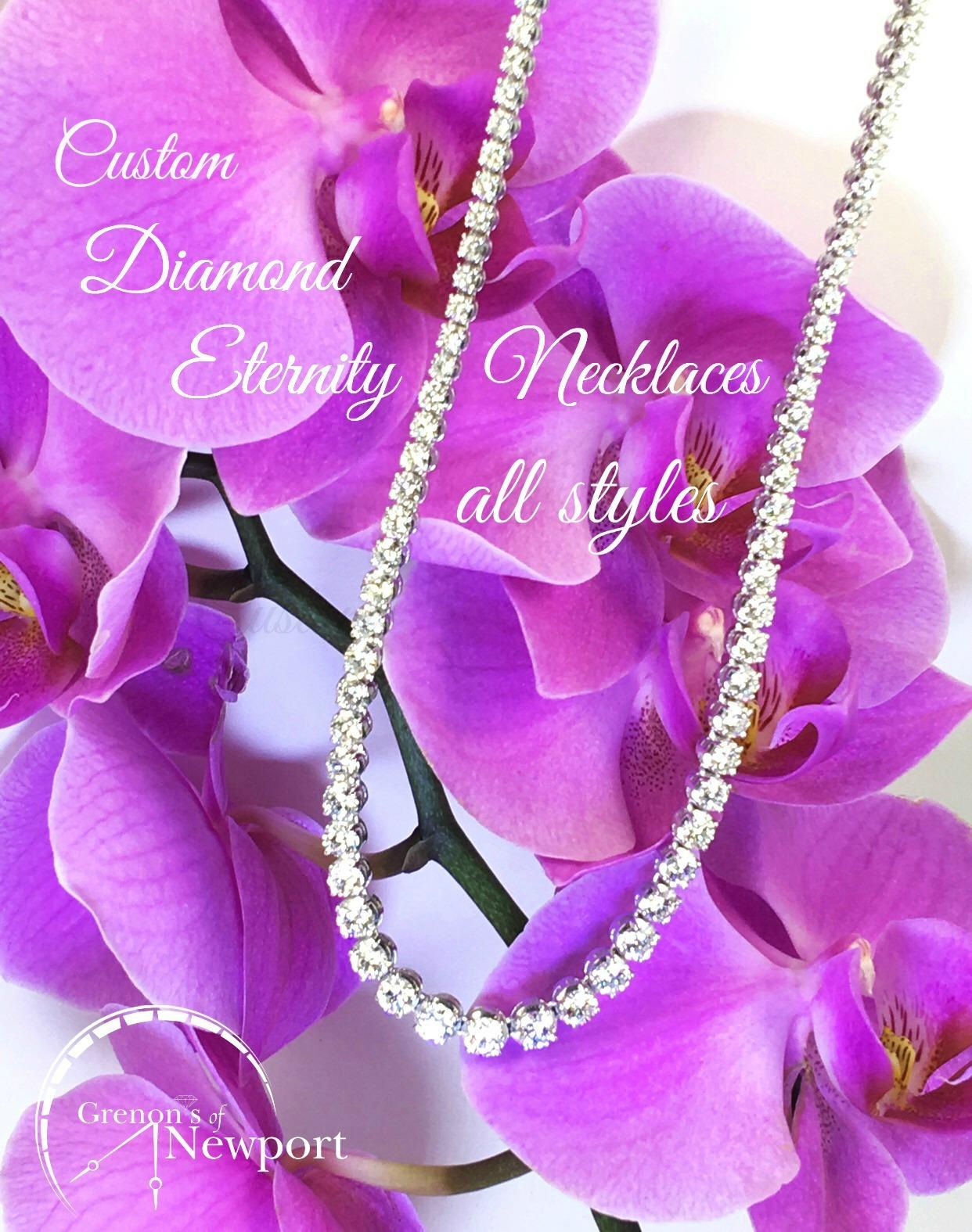 Grenons_Of_Newport_Custom_design_Diamond_Eternity_Necklaces_all_styles