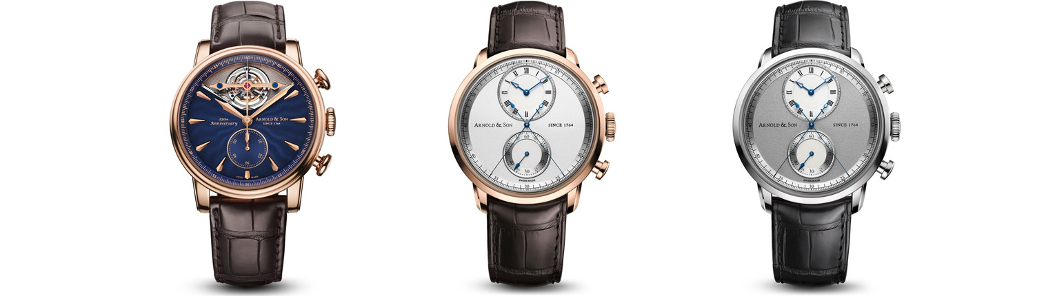 Arnold and Son - Chronographs