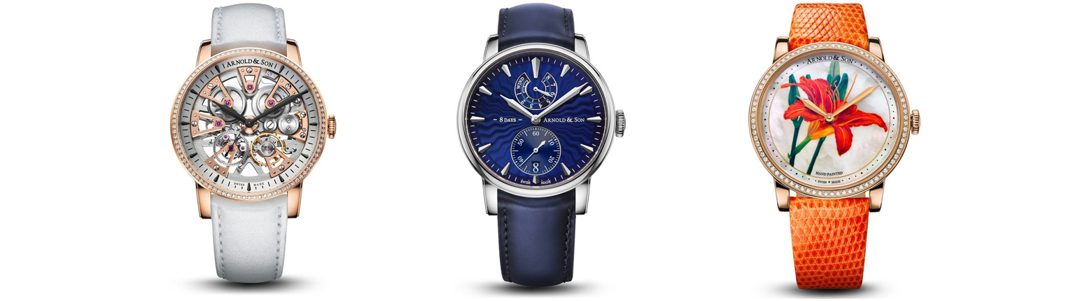 Arnold and Son - Time Only & Power Reserve
