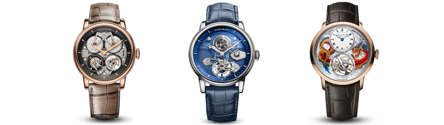 Arnold and Son - Tourbillons