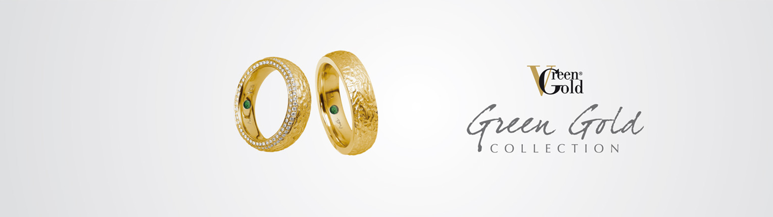 MATTHIAS & CLAIRE Green Gold Collection