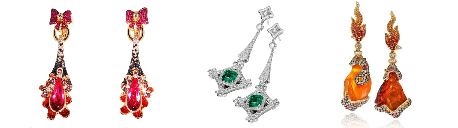 PRANDONI ITALIAN DESIGN EARRINGS
